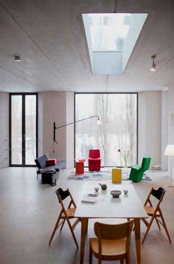 Loft Design In Berlin Concrete Chic Loft Design