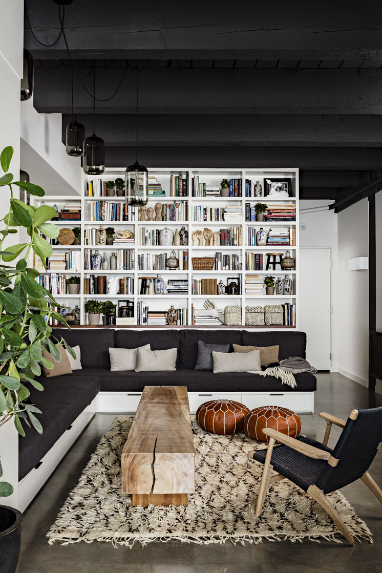 Nw 13th avenue loft: sophisticated industrial   loft design