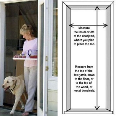 instant screen door bugoff - Bug Off Instant Screen Door: In-sects Free