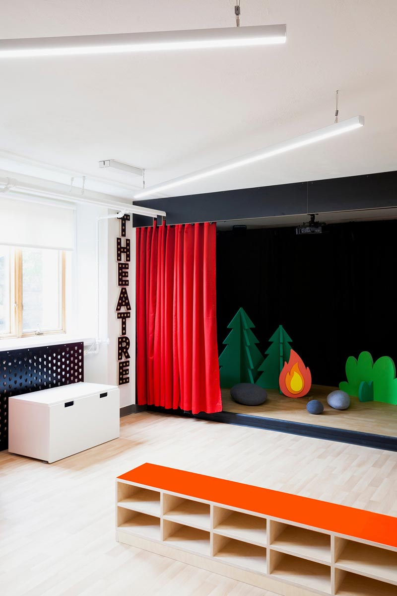 Inspiring amp Colorful Interior Design of a Kids School in Quebec