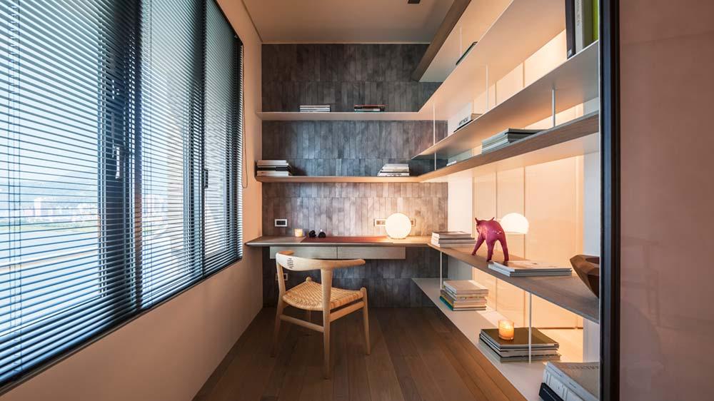 interior design study wd - Fluid Mirror Apartment