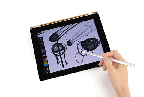 ipad stylus chopstakes 2 - Chopstakes Multitouch Stylus: ipad chopsticks