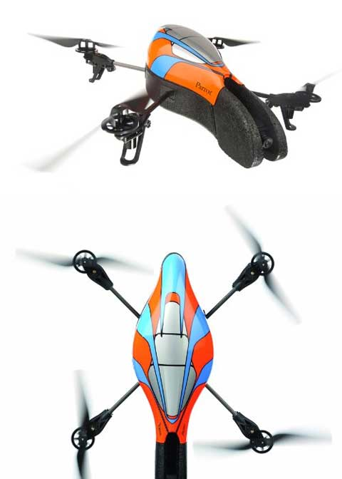 iphone toys quadricopter - AR.Drone Quadricopter: Are You Up for the Challenge?