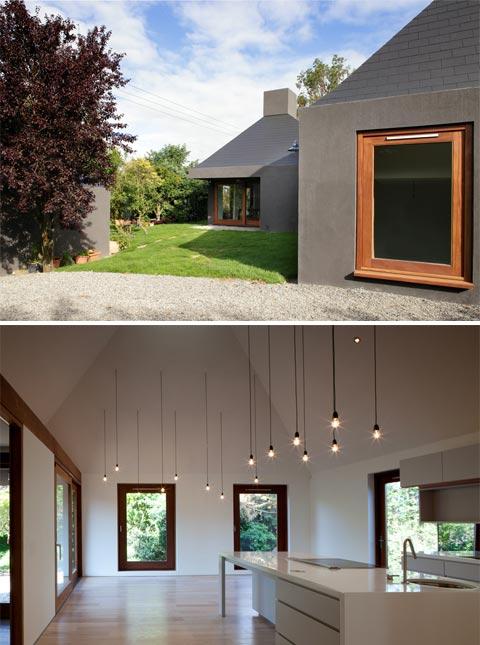 C House Chimneys Of Light Modern Architecture
