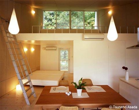 japanese home aluminium 2 - Small Aluminium Cottage