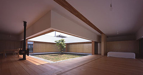 Cloister House Japanese Architecture