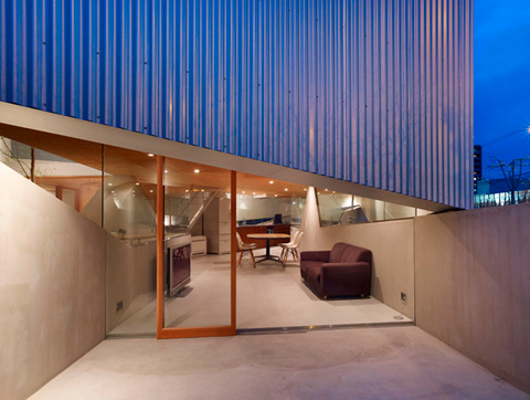 Japanese House Design Sdo 10   House In Saka: Between Inner And Outer Walls