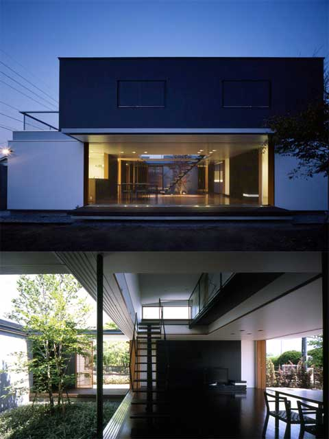 Gallery House Semi Outdoor Spaces Japanese Architecture