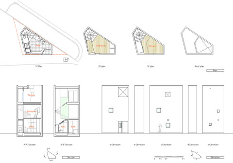 japanese house plan osaka - The Osaka House: a Closer Relationship to the Sky Above