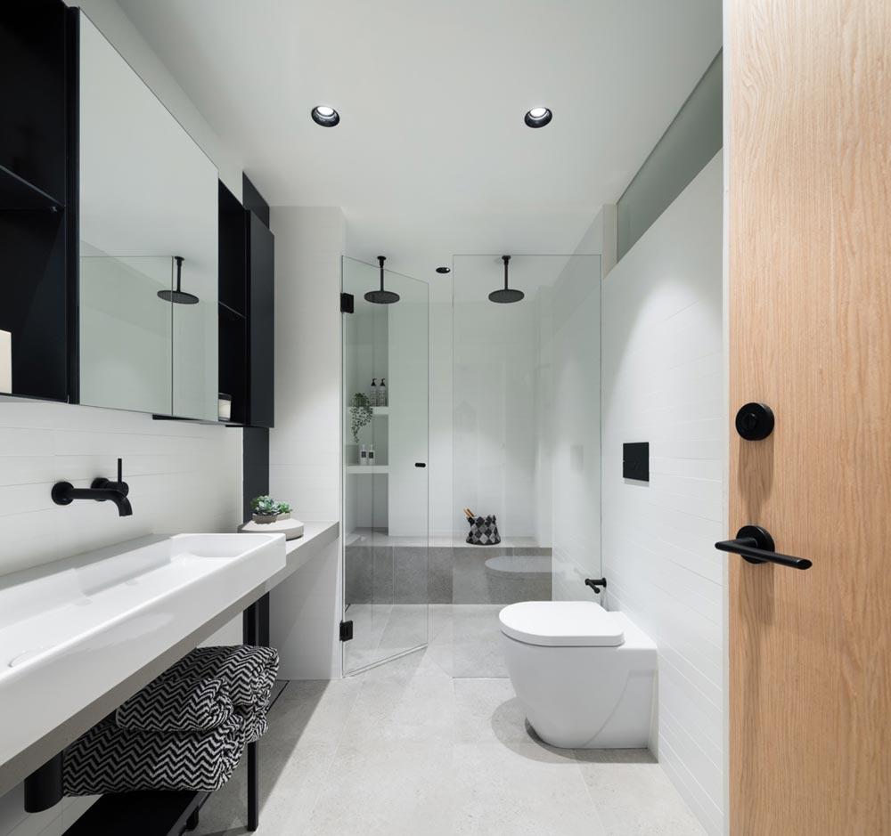 japanese interior design bathroom ba - Darlinghurst Apartment