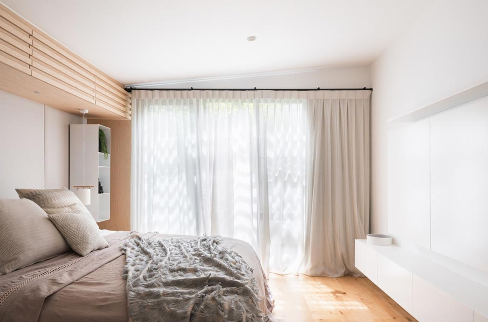 japanese interior design bedroom ba2 - Darlinghurst Apartment