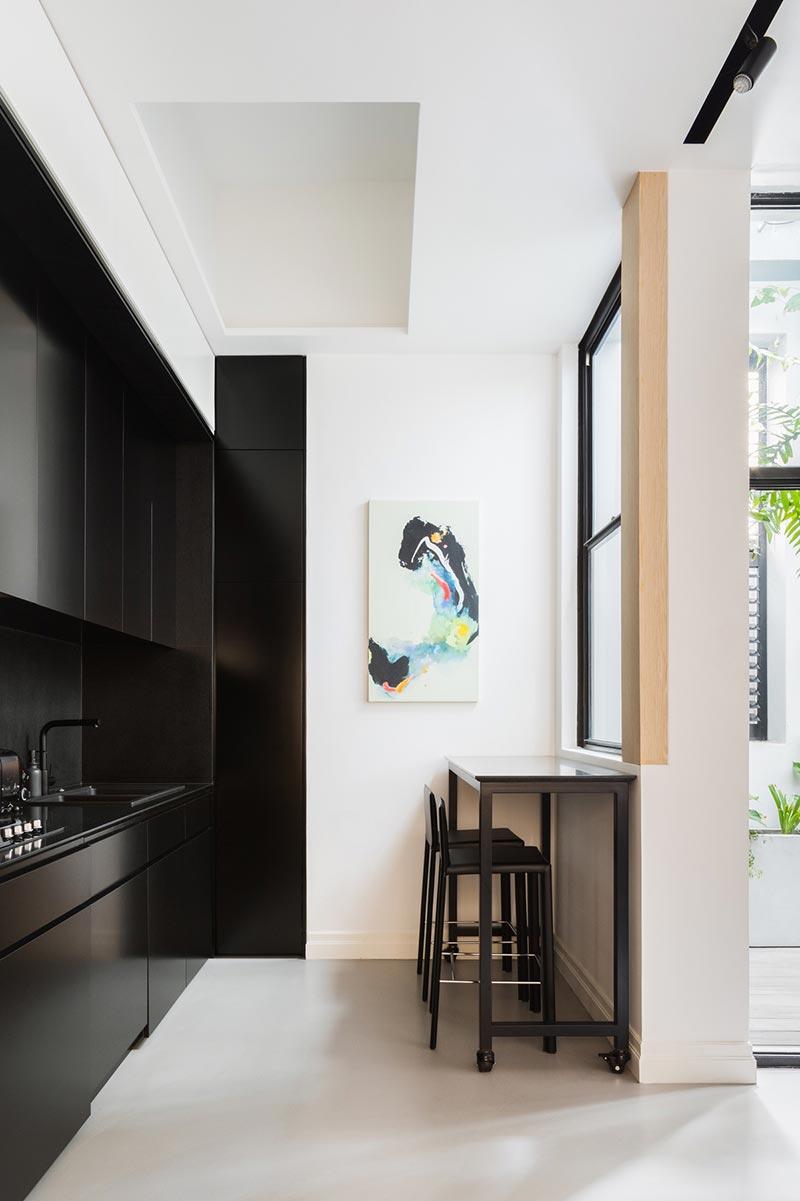 japanese interior design kitchen ba - Darlinghurst Apartment