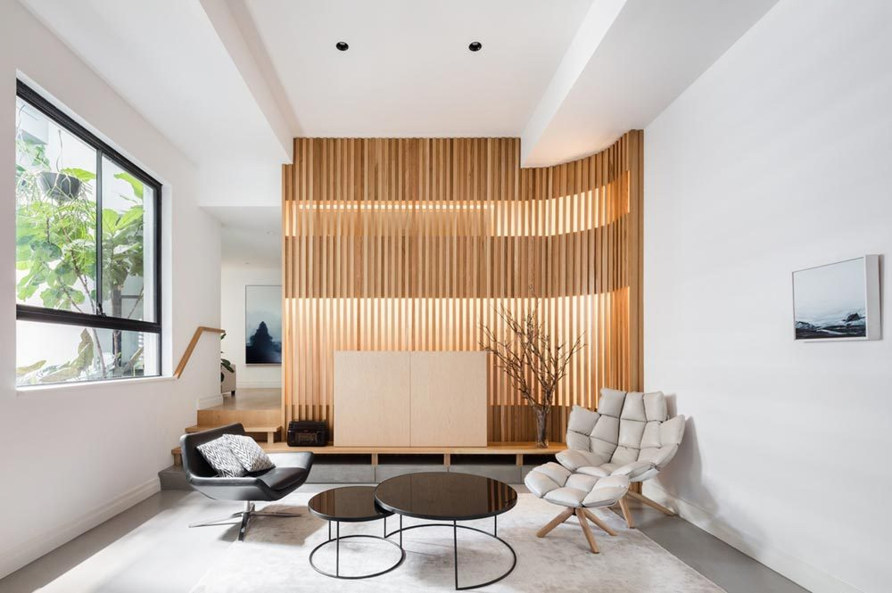 japanese interior design living ba 1000x665 - Darlinghurst Apartment