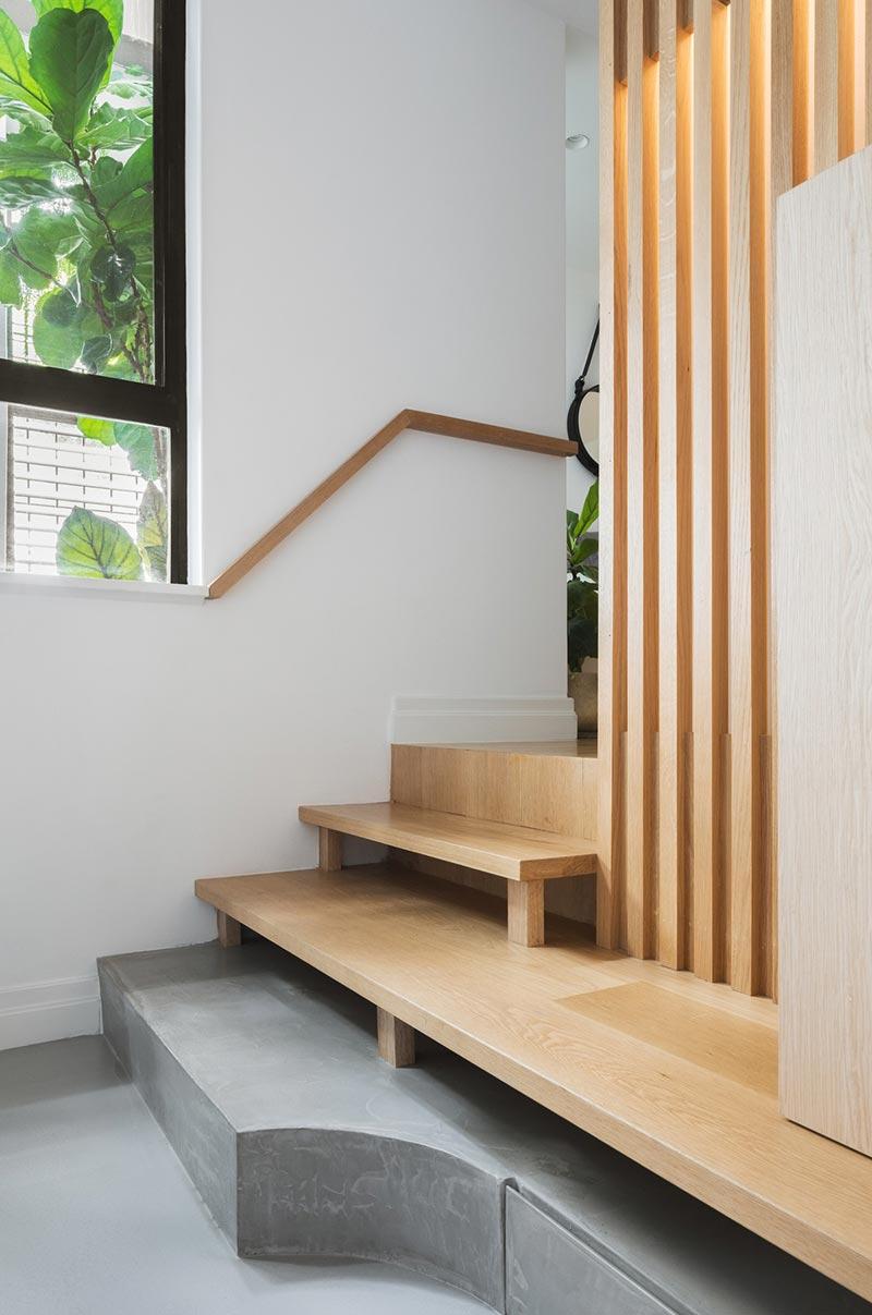 japanese interior design stairs ba - Darlinghurst Apartment