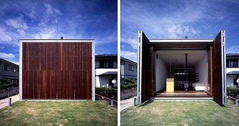Coastal Homes, Japanese Architecture | The Sandou House | Busyboo