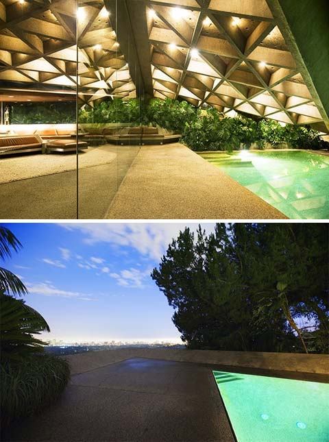 john lautner sheats house p2 - Sheats Goldstein Residence: an Architectural Classic