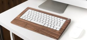 keyboard wood monotray0 300x140 - Woody's Wired MonoTray: For the Naturalist Typist