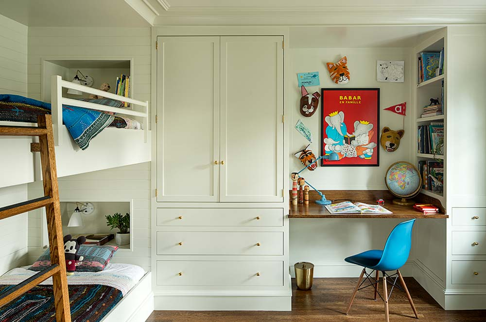 Kids bunk bedroom design