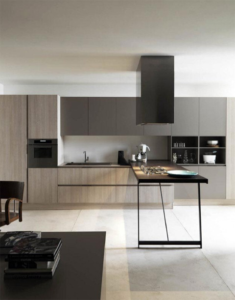 Delicious Kitchen Designs with Pure Details - Kitchen Design