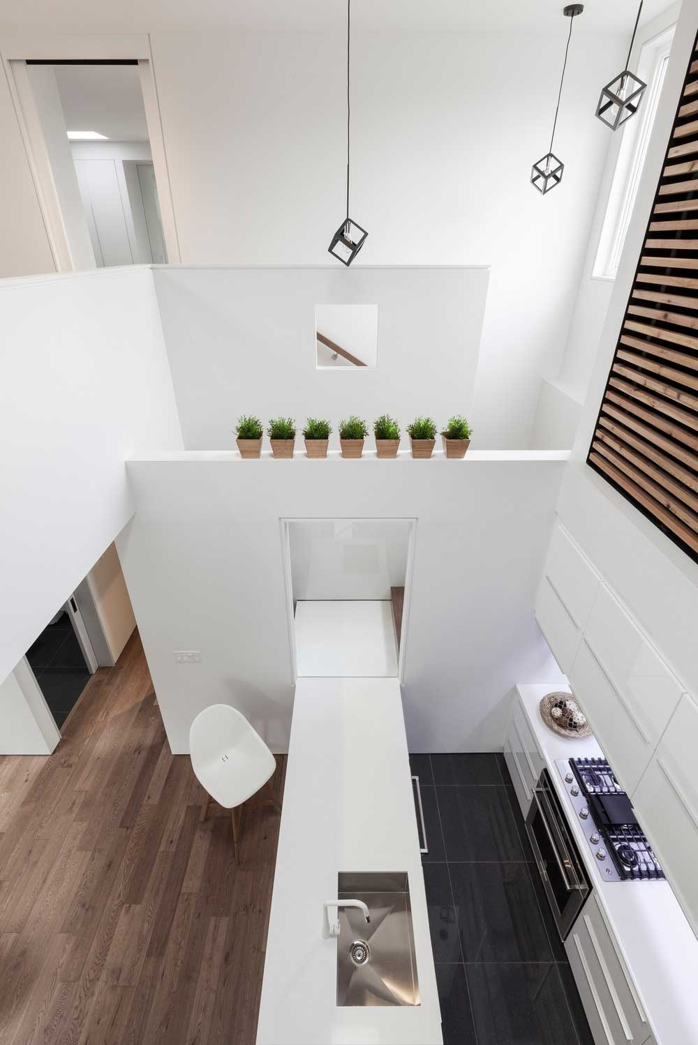 kitchen design top view - Flipped House