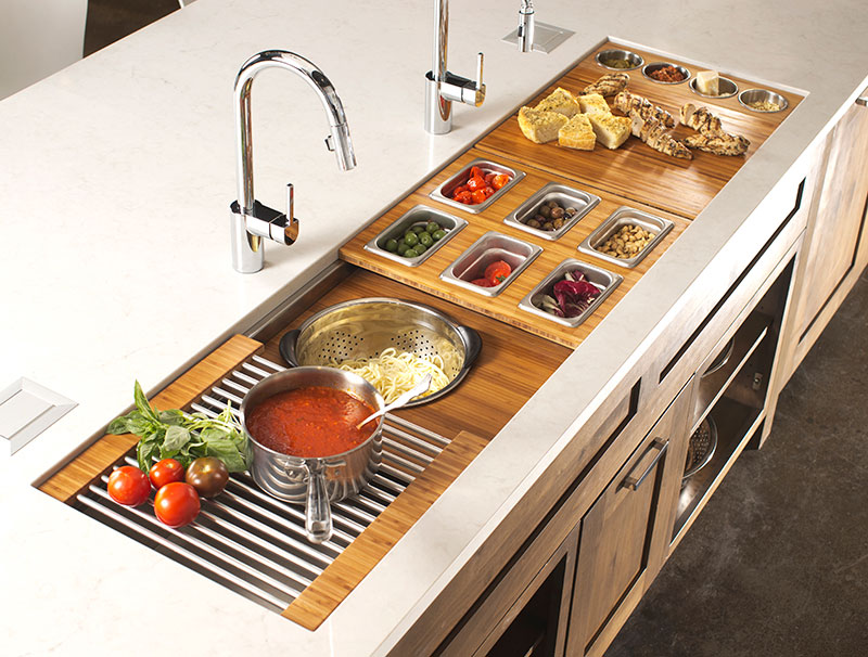 the galley sink workstation 7 kitchen design