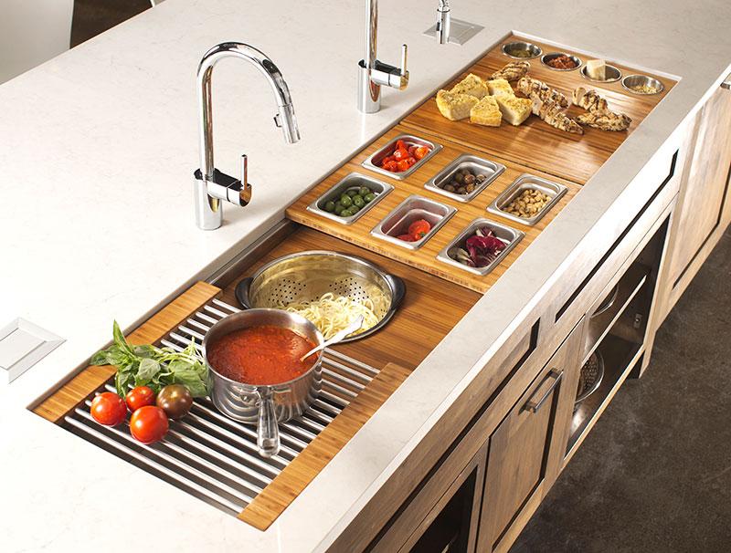 The Galley Sink Workstation 7 Kitchen Design