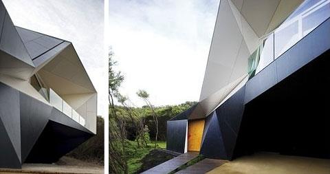 Klein Bottle House Modern Architecture - Klein-bottle-house-by-mcbride-charles-ryan