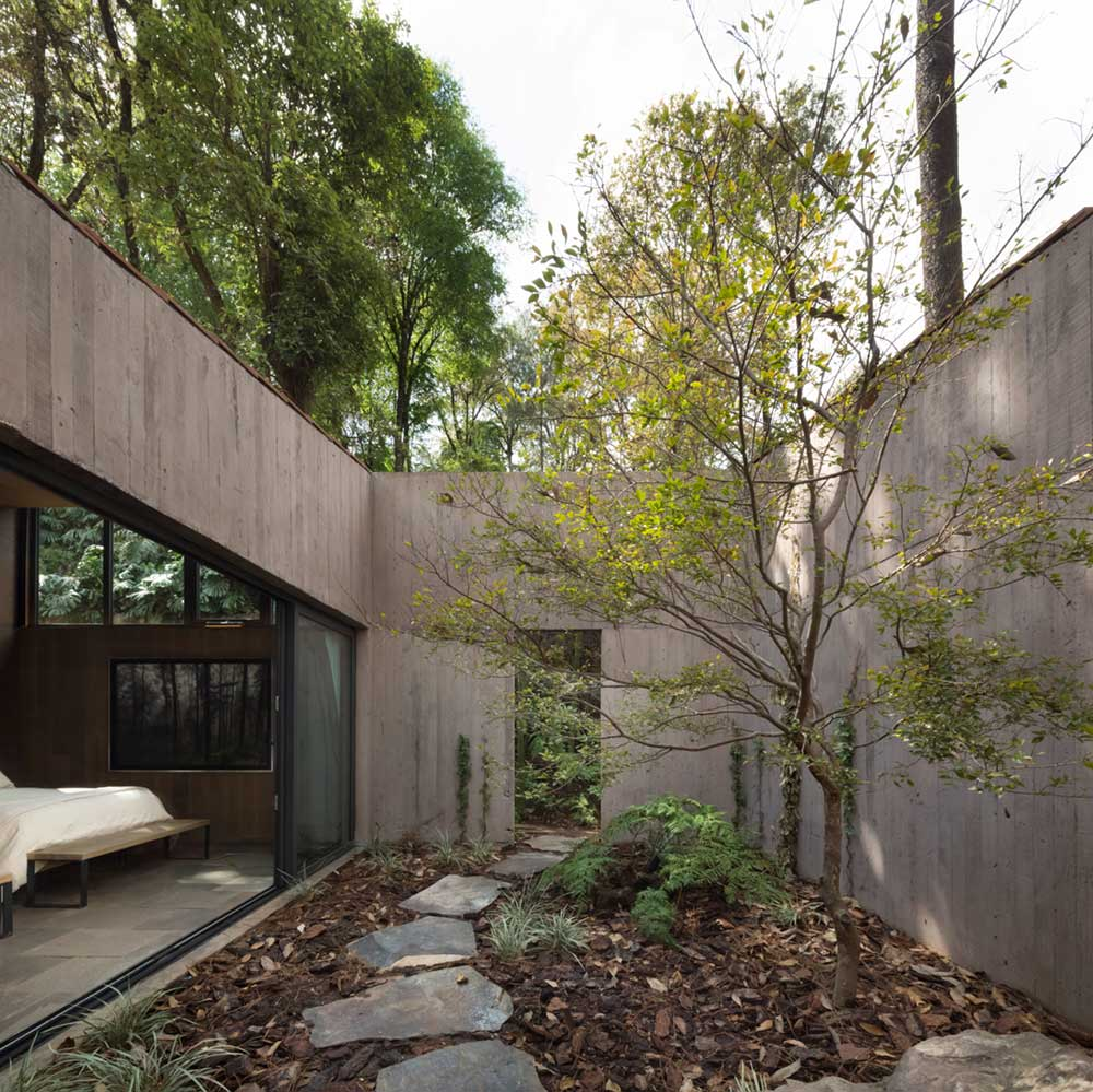 l shape house design bedroom - L House