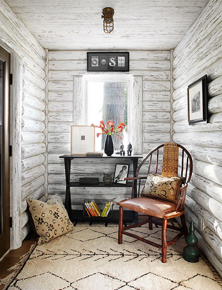Whitewashed Cabin Grounded Luxury And Tranquil Escapes By