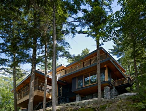 Lake Joseph Cottage Comfortable Luxury Coastal Homes