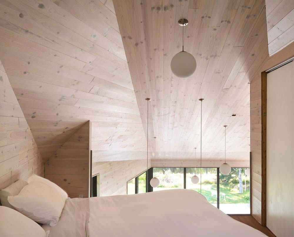 lake house design bedroom loft - The Sisters