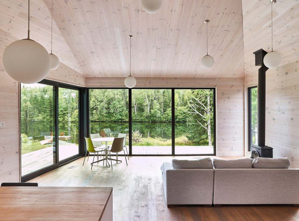 lake house design living - The Sisters