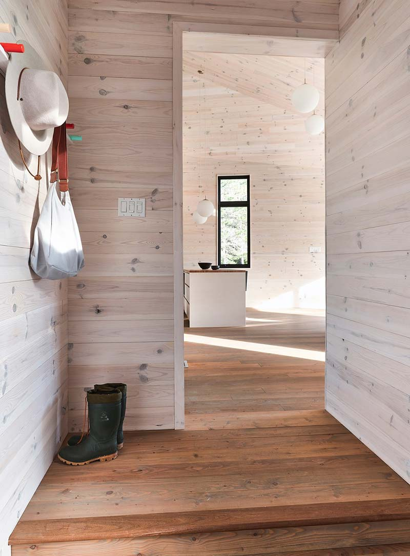lake house design mudroom - The Sisters
