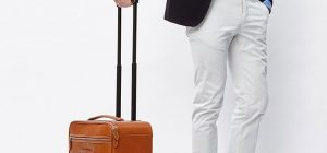 leather trolley 300x140 - Travelteq Trolley