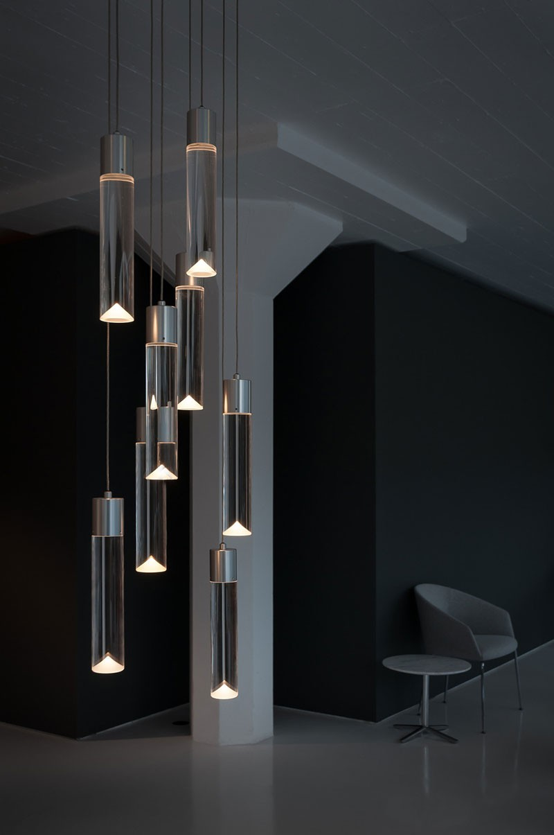 Archilume chandelier lighting for Suspension contemporaine