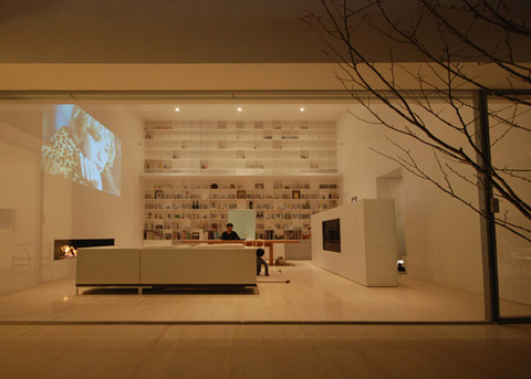 Library House Modern Simplicity And Grace Japanese