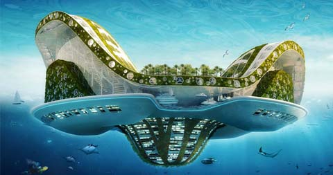 lilypad-modern-city