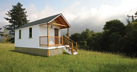 Little House On The Trailer - Prefab Cabins, Small Houses