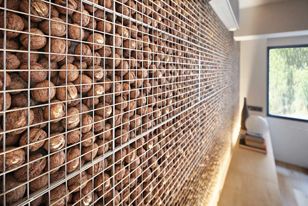 live work studio wallnut wall design ym - Studio Loft