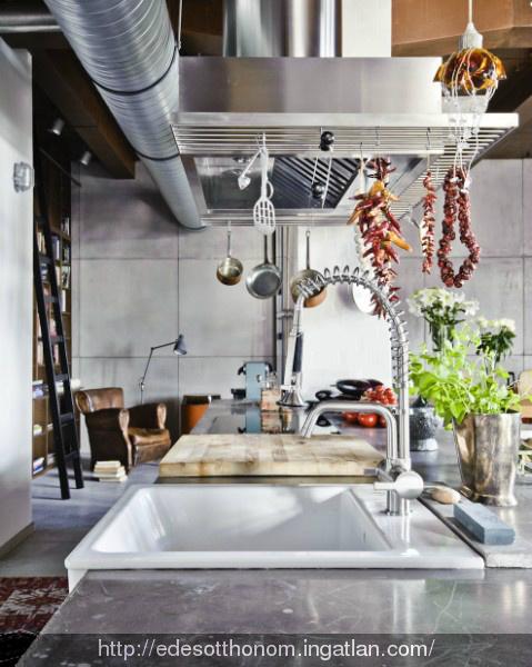A stunning loft in budapest loft design for Design apartment 2 budapest