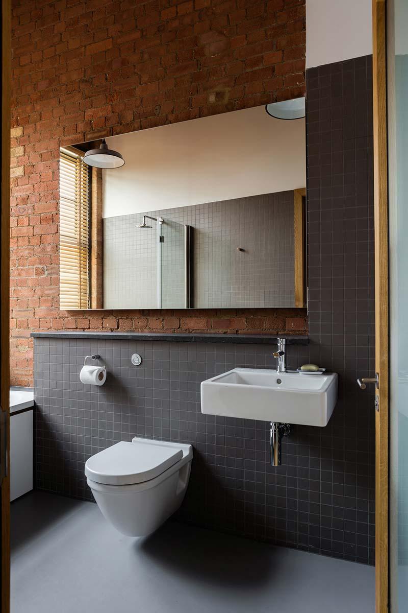 loft apartment design bathroom eea - Charlotte Road