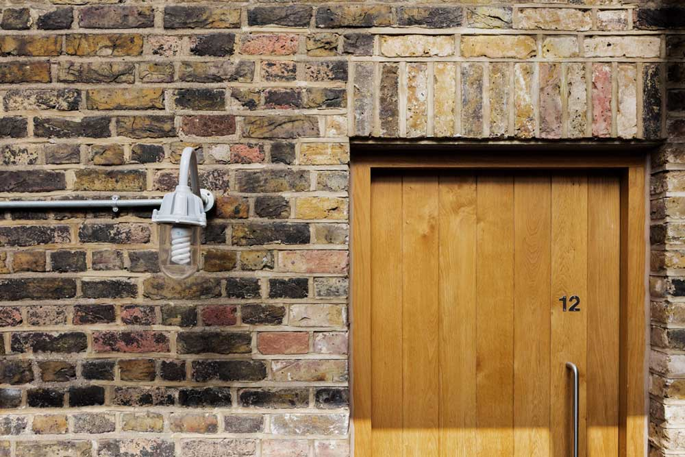 loft apartment design brickwork eea - Charlotte Road