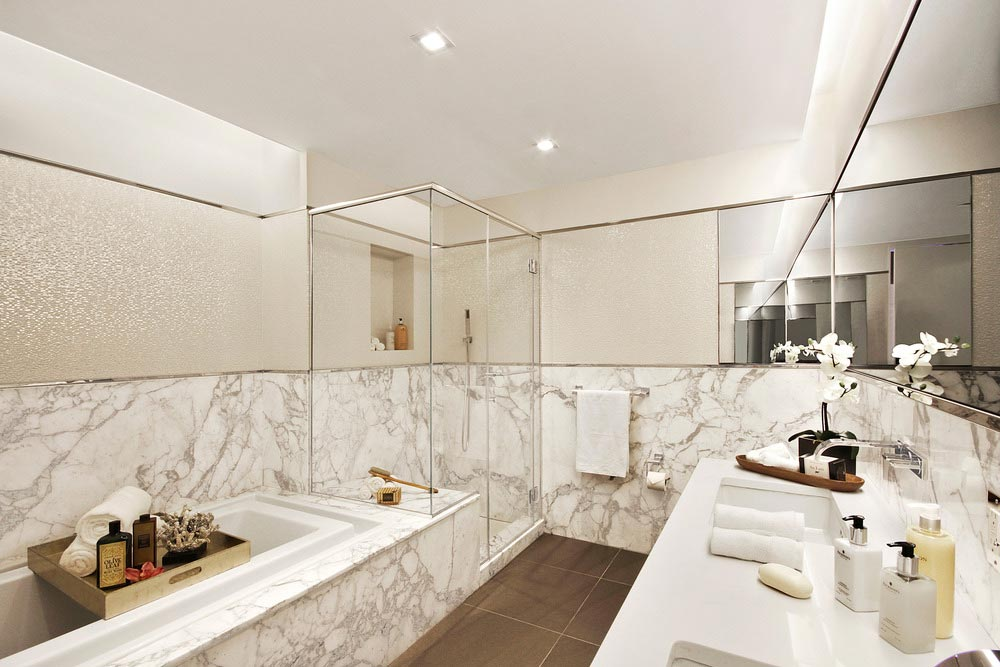 Bathroom Faucets New York City luxury loft apartment design in greenwich village, new york