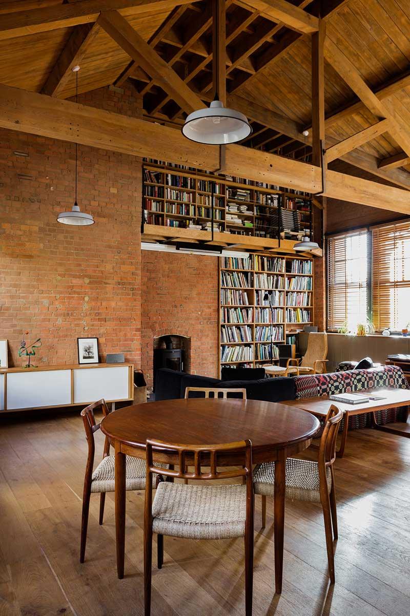 loft apartment design timber eea - Charlotte Road