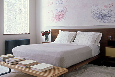loft apartment gallery ma 7 - Meltzer Ames Residence: Gallery-Like Loft