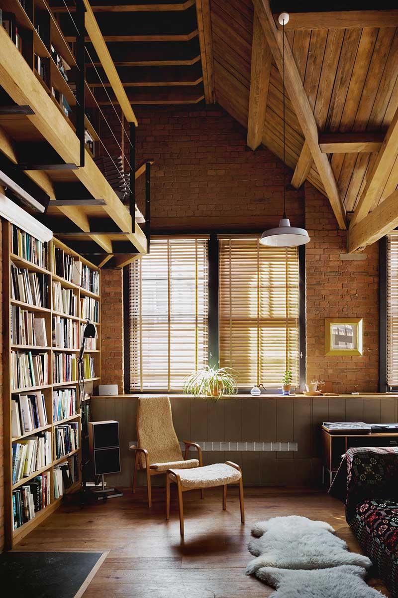 loft apartment interior design eea - Charlotte Road