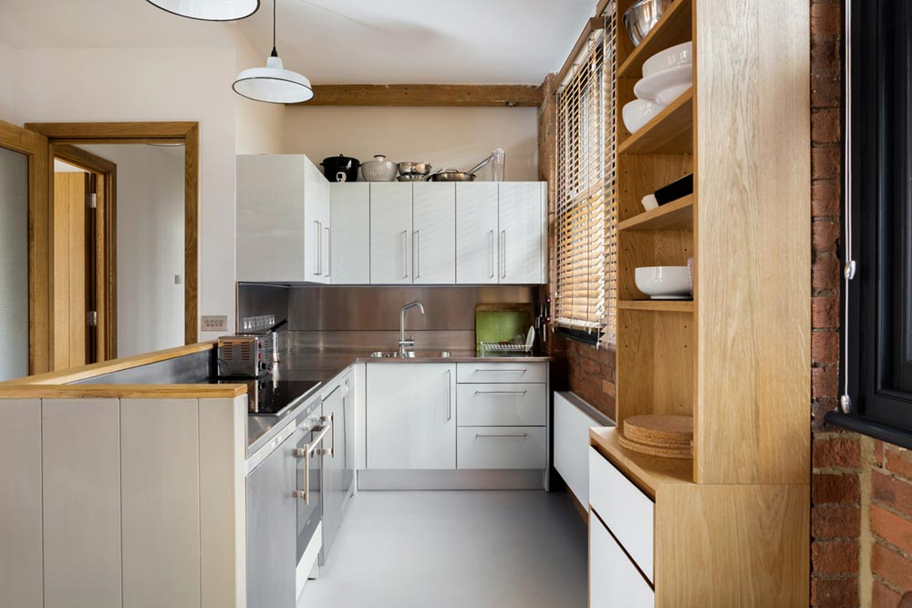 loft apartment kitchen design eea - Charlotte Road