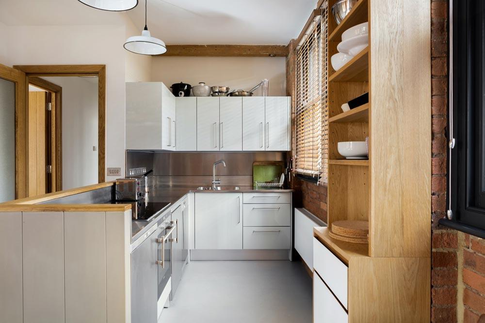 loft apartment kitchen design eea - Charlotte Road