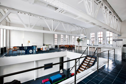 Chelsea loft gym worked out in to a home beautiful interiors