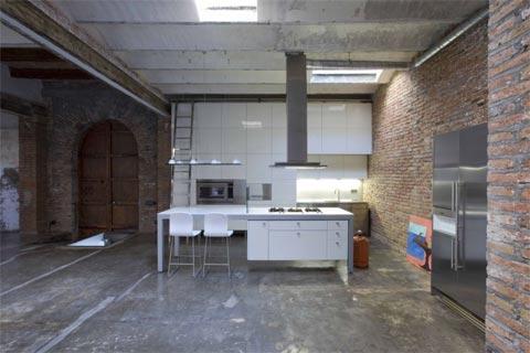 Industrial Loft In Downtown Barcelona Loft Design